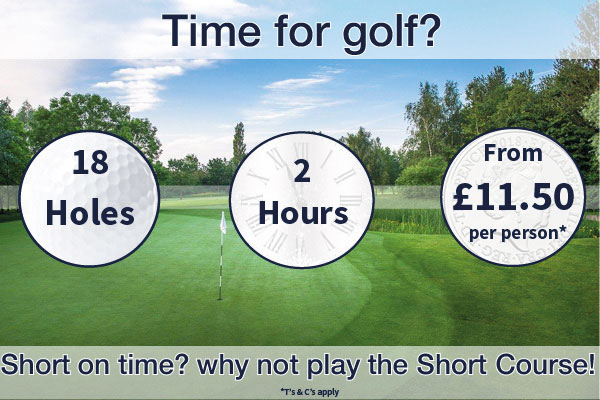 Time for golf at Thornbury Golf Centre